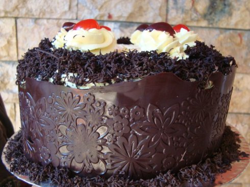 Blackforest with Chocolate Noodle